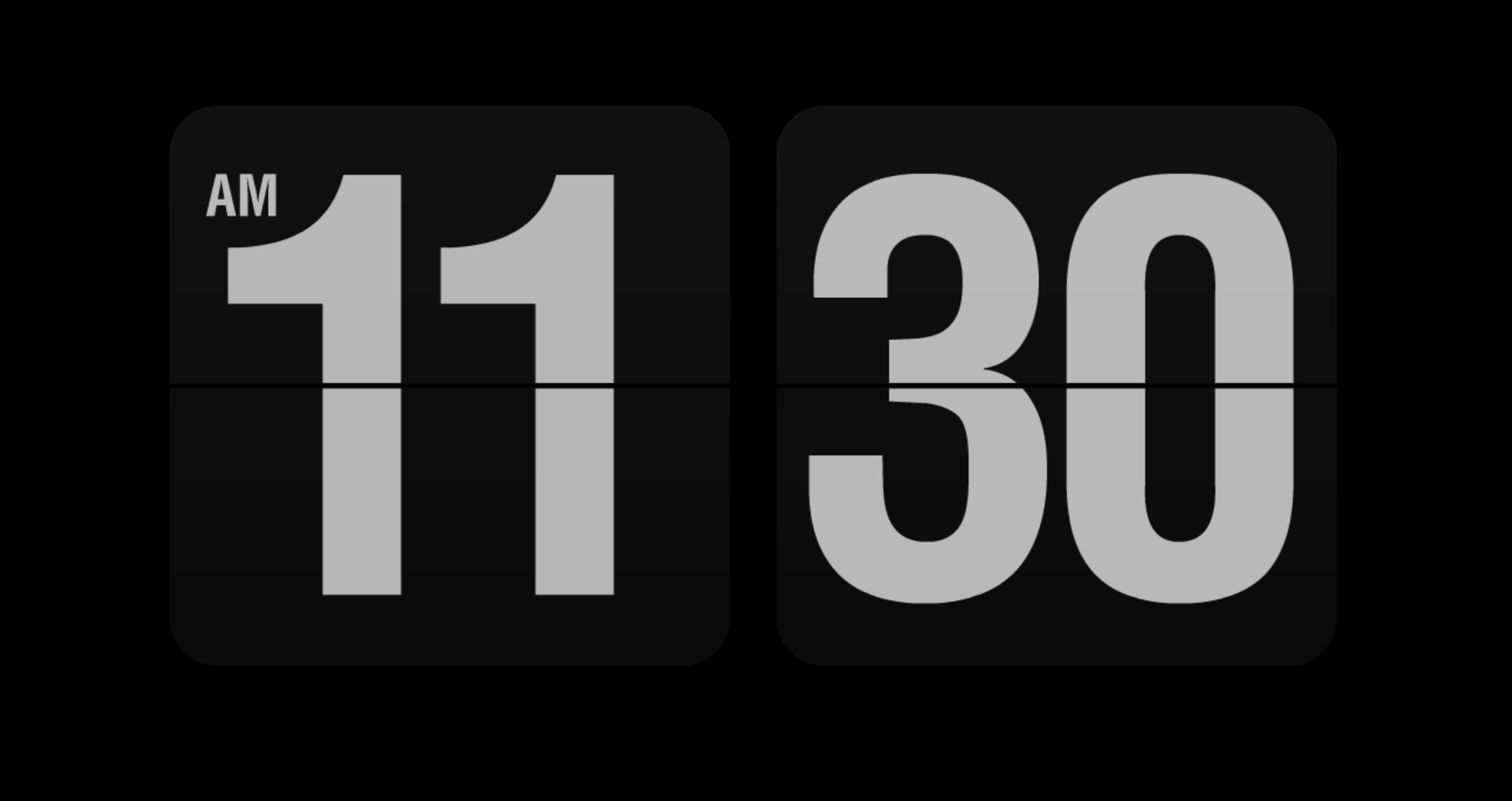 無料のオシャレな時計型のスクリーンセイバーのまとめ 2018年度版